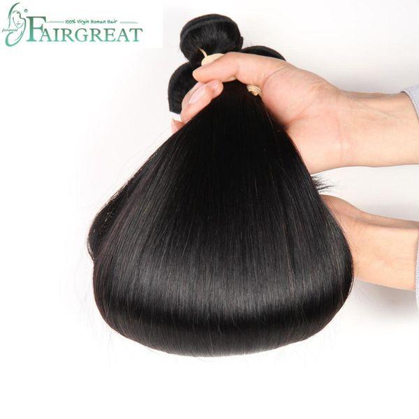 Malaysian Straight Hair 100% Human Hair Bundles Non-Remy Hair Extension Natural Color Can Buy 3 or 4 Bundles