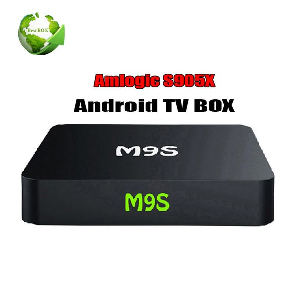 M9S X1 Android OTT TV Kutusu S905X Quad Core Android 6.0 Wifi 2.4G 1G 8G Akıllı Android TV Kutusu Media Player Streaming Kutusu PK MXQ Pro S905W