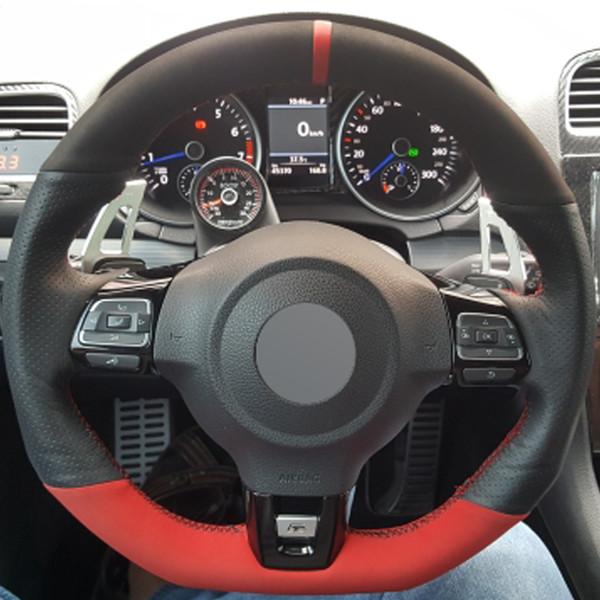 M Black Chrome Line Steering Wheel Cover Premium Quality High Quality