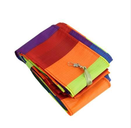 MACH Super Nylon Stunt Kite Tail Rainbow Line Kite Accessory Kids Toy