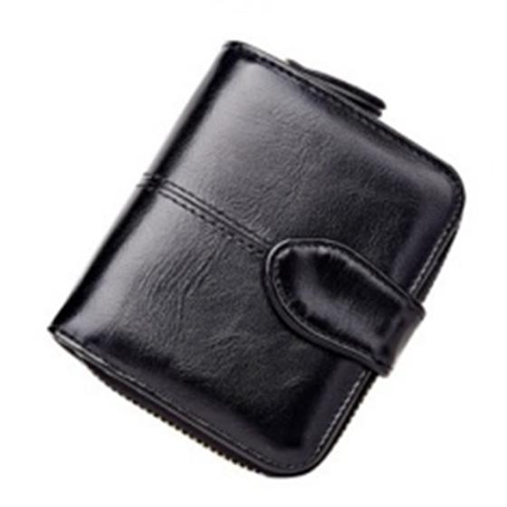 ASDS Lady PU leather short paragraph couples two small wallet buckle wallet