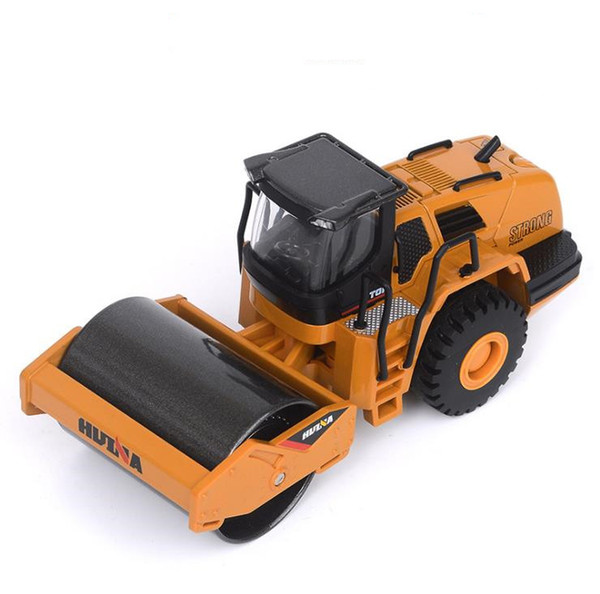 1:50 scale alloy truck model, high-simulation alloy roller, sliding Engineering vehicle toy, collection model, free shipping