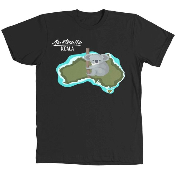 Koala Camiseta V774b Negra Xm25tshirtDhgate América 05 Australia Mujer Y Del com En Compre A12 Hombre MpUGqSzV