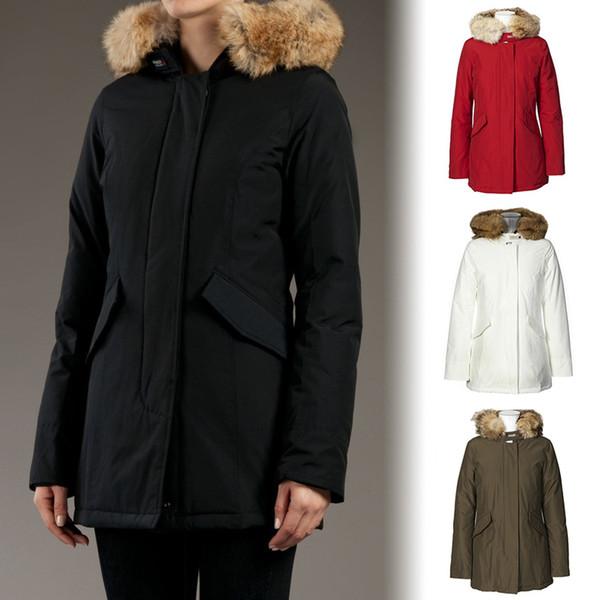 size 40 5654c 27c94 Großhandel Dhl Freies Verschiffen 2018 Frauen Woolrich Artie Parka  Daunenjacke Winter Gänsedaunen 90% Outdoor Thick Coat Womens Warm Outwear  Jacken ...