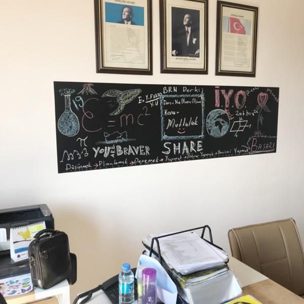 sticker wood 60x200cm stickers wall stickers Vinyl Chalkboard sticker drawing toy vinilos paredes blackboard