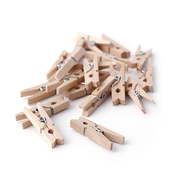 Mini Wooden Pegs 30 mm 10,25,50,100 pcs