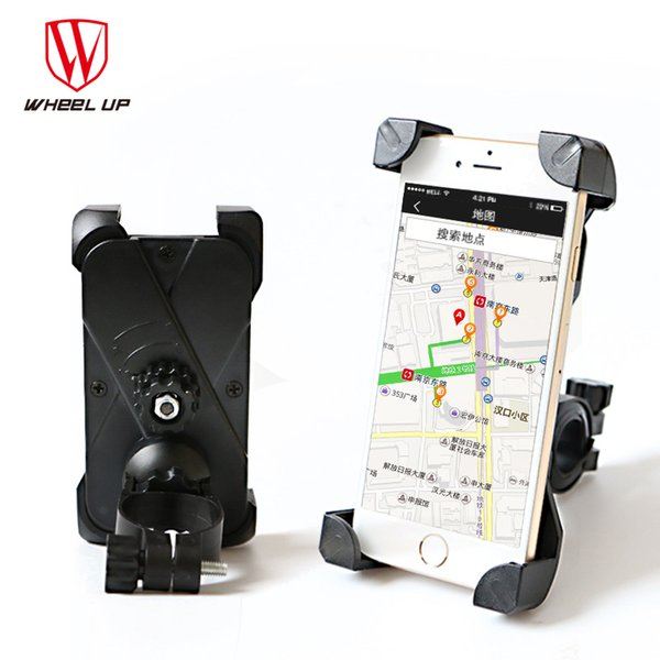 360 Degree Full Surround Bicycle Phone Holder Handlebar Bike Bag Clip Stand Mount Bracket For Cellphone GPS Iphone Clip Bags