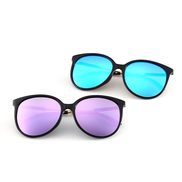 Fashion 55060 Big Frame Riding glasses Luxury Women Brand Designer Casual Sunglasses Cat Eye Butterfly Mixed Design UV400 Mirror Lenses