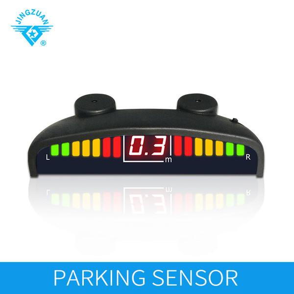 Auto Parktronic LED de voiture de JINGZUAN lumière de stationnement avec le système de détecteur de moniteur de capteurs de stationnement a mené l'assistance d'affichage