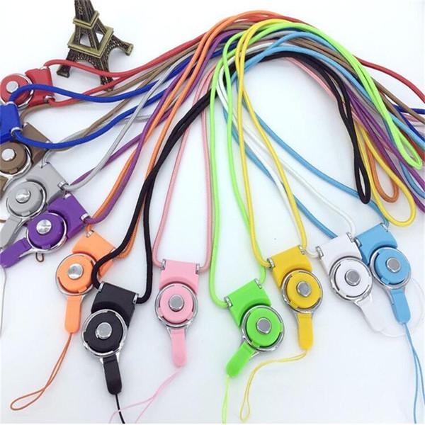 Universal abnehmbare Lanyard drehbare Handy Umhängeband hängenden Seil Ring Charme für Smartphone MP3 MP4 ID Card Keychain