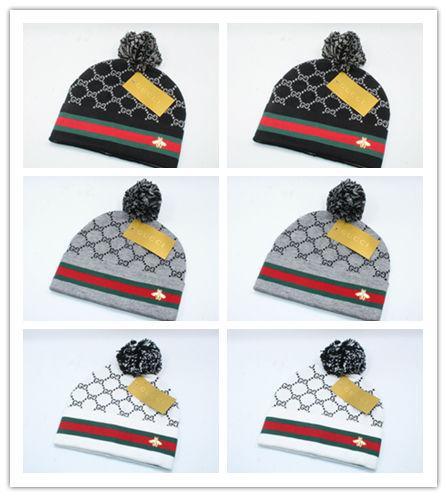2019 Günstige Europa und die Vereinigten Staaten Stil Luxus Winter Sicherheit Hut Wolle Mode Wolle Hut hochwertige Männer und Frauen Strickmütze