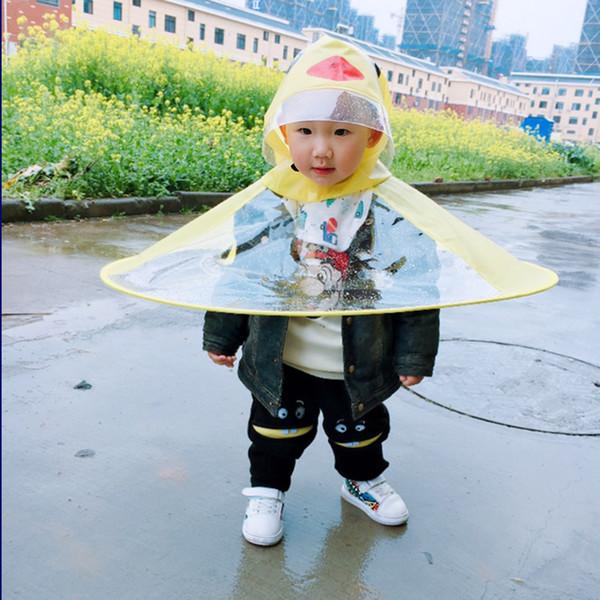 Großhandel Kostüm Geschenke De dhgate Auf Gelbe Ente comDhgate Regenmantel Kreatives Mantel Darnelly34 Von 87 Kind Ufo Design Cosplay Kinder F5TKJc13ul