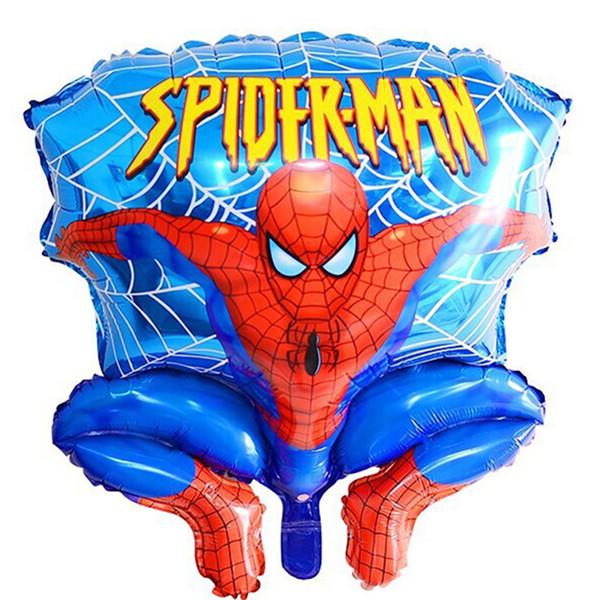 Aluminum Happy Spiderman Red Ballon für Hochzeit Geburtstag Party Supplies Dekoration Cartoons Folie Ballon Freies DHL Verschiffen 674