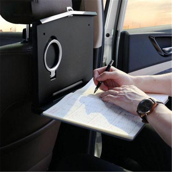 Auto Klapptisch.Großhandel Auto Faltender Computer Schreibtisch Multifunktionales Verstecktes Glastellersegment Das Hochfeste Magneten