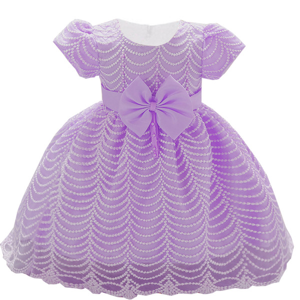 Baby Girls Dress For Girl 1 Year Birthday Dress Kids Baby Princess Christening Gown Infant Party Newborn Clothes