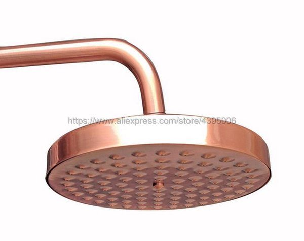 Antique Red Copper Round Showerhead Rainfall Shower Head Rain Shower Head Bsh032