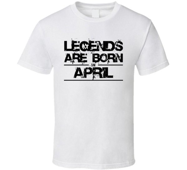 46685535 Legends Are Born In April Aries Taurus Zodiac Birtday Gift T Shirt ...