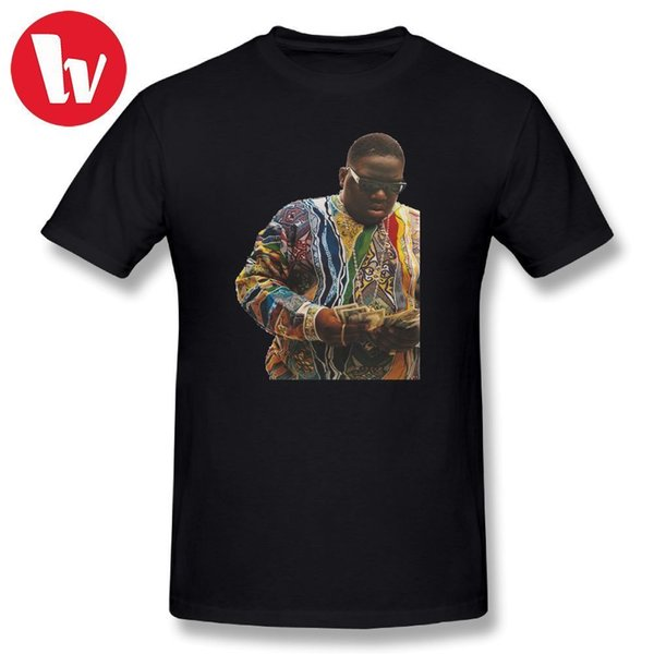 Notorious Big T-Shirt Men Print Biggie Smalls T Shirt Summer Short Sleeve Awesome Tee Shirt Beach Tee Shirts Casual T-Shirts