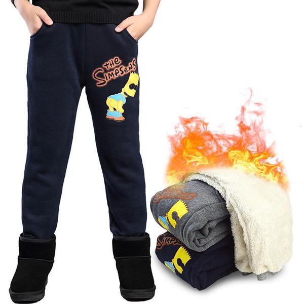 2018 kötü baskı erkek spor pantolon pantolon sonbahar Kış kalınlaşma artı kazık büyük Kore tarzı pantolon 6135