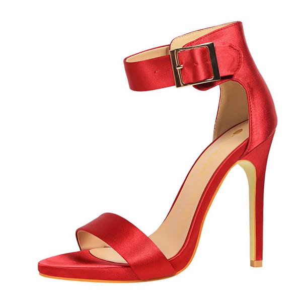 platform sandals sandalia feminina ladies Fashion minimalist sexy nightclub super shoes woman sandals high heel buckle sandals