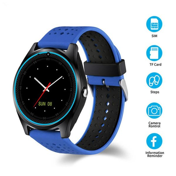 Bluetooth Smart Watch V9 DZ09 With Camera Smartwatch Pedometer Health Sport Clock Hours Men Women Smartwatch For Android IOS