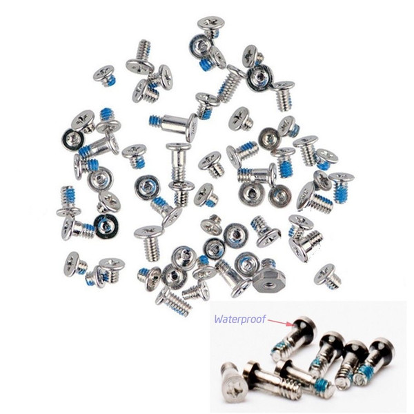 Replacement Torx Screw Kit Full Complete Repair Assembly Set With 2 Dock Connector Bottom for iPhone 7 6 6s Plus
