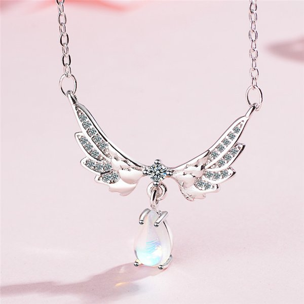 LUKENI Top Quality Crystal Animal Female Pendants Necklace For Girl Party Jewelry Charm 925 Silver Women Choker Necklace Lady