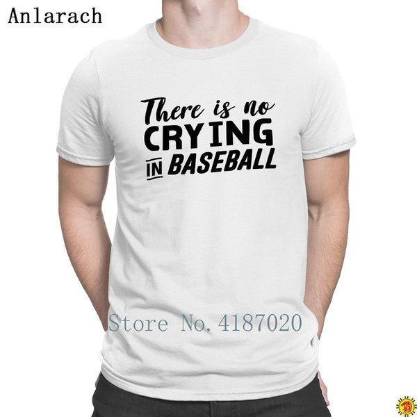 a95ac7570 There Is No Crying In Baseballs Tshirts Creature HipHop Men's Tshirt Spring  Autumn Humorous O-