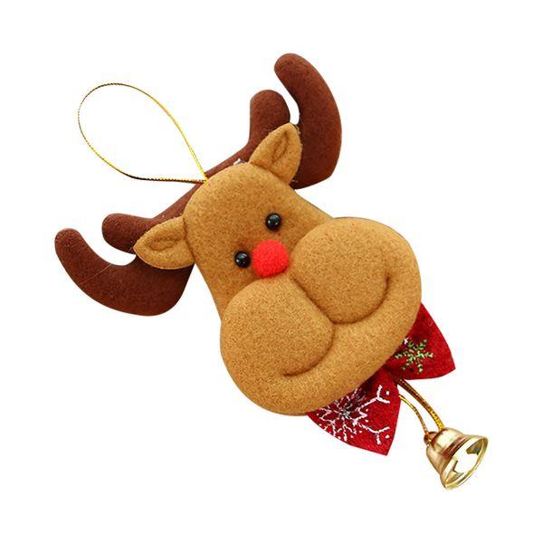 Chrismas dekorasyon Natal decoracao HJW ChristmasOrnament Asılı Kolye Bezeme Çan Dekorasyon