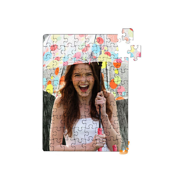 top popular blank puzzle for dye sublimation heart transfer printing pearl light White paper puzzles custom sublimation puzzles child toys gift P16 2019