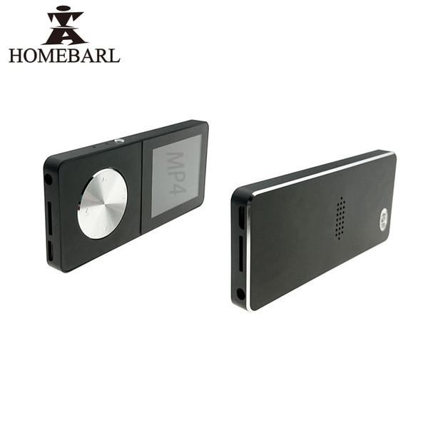HOMEBARL T01 Nuevo 3er 4to MP4 Player Video Music 4GB 8GB 16GB Metal Players 1.8