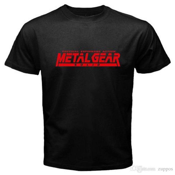 Compre 2018 Nueva Marca Camiseta Hombre Nuevo Metal Gear Solido
