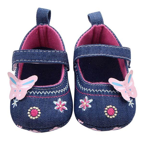 ROMIRUS Babies Shoes Girl Chaussures Bebes Fille Sapato Menina Newborn Vintage Canvas Embroidery Sneakers Booties bebek ayakkabi