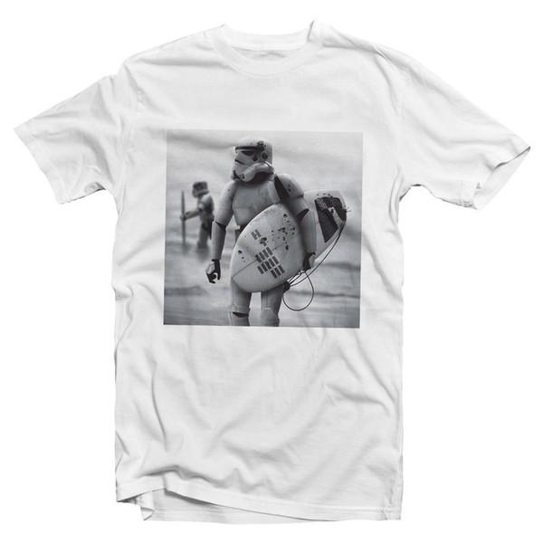 Stormtrooper Surf Tshirt - Wars Stormtrooper surfista Tshirt - Storm Trooper