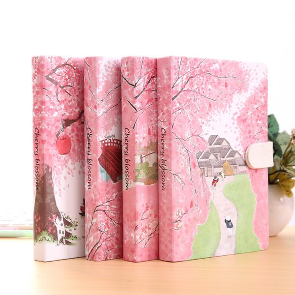 2019 Sakura Cat Ver 2 Journal Diary Hard Cover Cute Journal