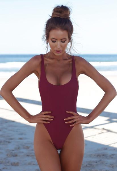 Fashion Bikini Swimwear for Women Bathing Suit Beachwear Summer one piece Sexy Lady Swimsuit Black White