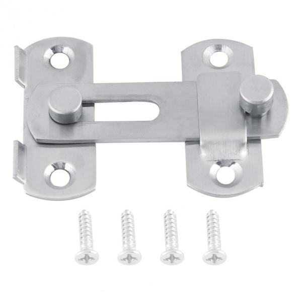 best selling 304 Stainless Steel Siding Door Lock Pestillo Puerta Latch Schuifdeur Slot Window Cabinet Locks For Home Hotel Door Security