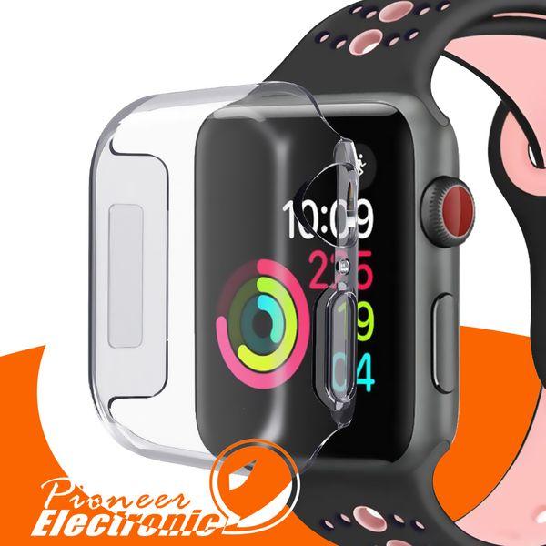 Para el estuche Iwatch 4 40mm 44mm 3D Touch Protector ultra claro suave TPU Bumper Apple Watch Series 4 Protector de pantalla para Apple Watch 4 casos