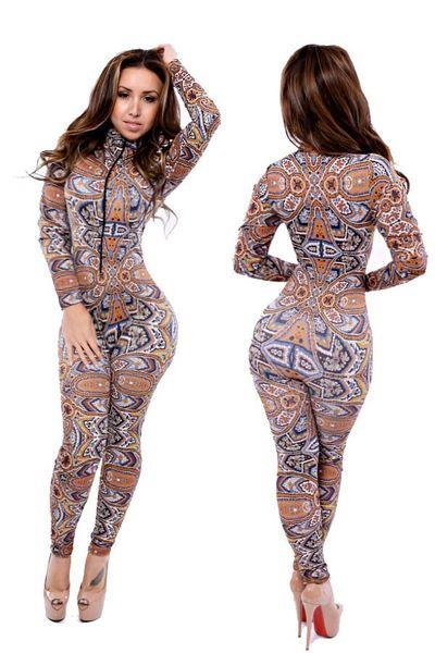 Verano sexy mono mujeres clubwear mamelucos bodycon para mujer mono pantalones largos Jumpsuit Size M L envío gratis