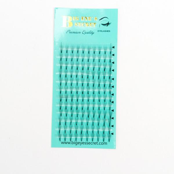 2019 Free shipping lashes 8-15mm 7D False Eyelashes Extension 7D short Lashes Flase Eyelashes Big eye's secret