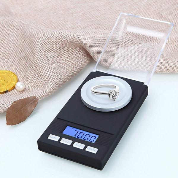 DHL Shipping jewelry scale 20g/50g 0.001g digital diamond pocket scale electronic digital mini pocket weight milligram diamond scale