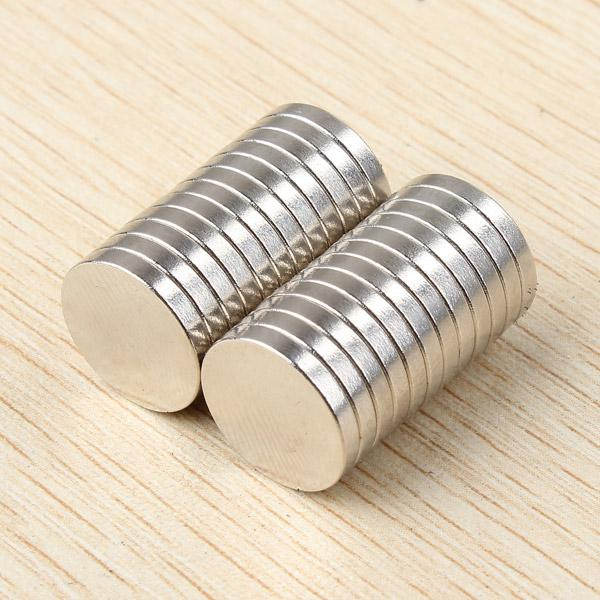 25pcs D12x2mm N52 Round Disc Neodymium Magnets Rare Earth Strong Magnet