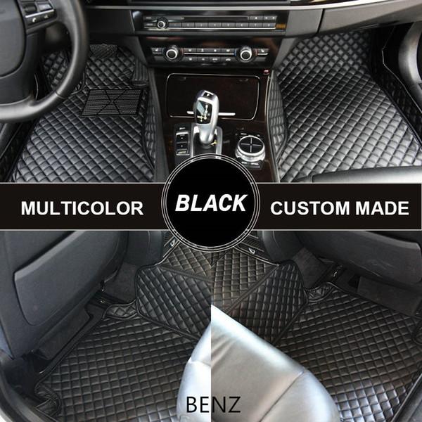 top popular Custom Car Floor Mats for Mercedes-Benz G-Class CLA W204 W209 CLK W211 W212 E55 AMG W221 2016 Mercedes GLC300 Trunk Mats 2019