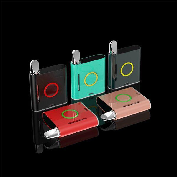 100% Original VapMod Vmod Starter Kit 900 mAh Batterie Verdampfer Vape Stift VV Mod Für 510 Gewinde Dick Wachs XTank Plus Patrone Zerstäuber AT189