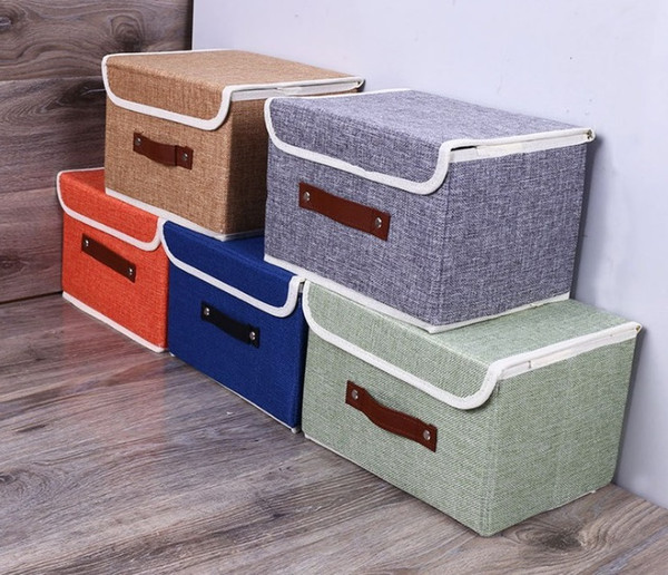 Collapsible Storage Organizer Boxes Cube For Nursery 17*20*26cm Storage for Children's Room, Basket Bins for Home Shelves and Office
