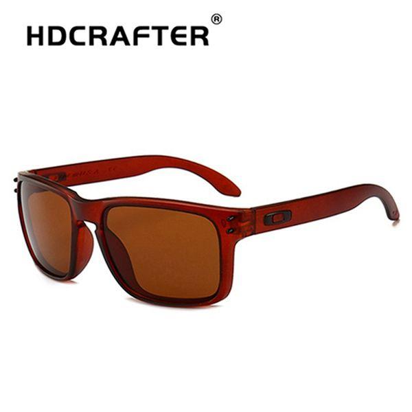HDCRAFTER Moda Óculos De Sol Dos Homens Óculos De Sol Dos Homens Espelhos  de Condução Pontos 4302f4fd13