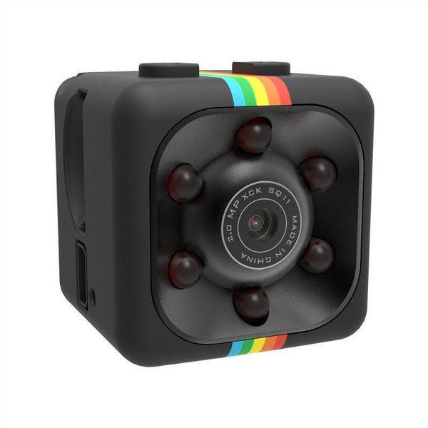 SQ11 Mini cámara HD 1080P Visión Nocturna Mini Cámara de video de acción DV Grabadora de voz Video Micro Cámara 10PC / LOT