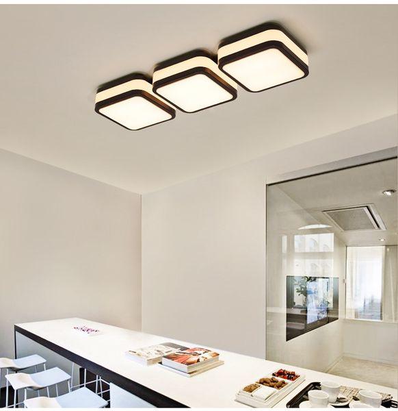 Großhandel LED Deckenlampe Schlafzimmer Lampe Warm Und Modern Einfache Büro  Studie LED Beleuchtung Kreative Atmosphäre Wohnzimmer Dinging Room ...