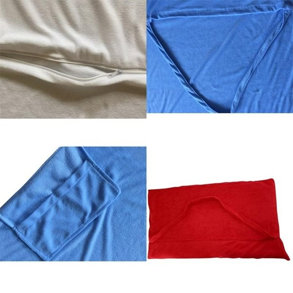 Beach Chair Towel Cover Deck Chair Blankets Portable Incidental Strap Microfiber Double Layer Fabric Blanket For Outdoor Travelling 28dl ii
