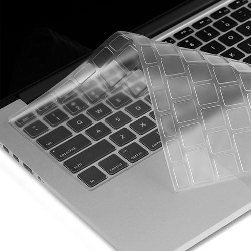 Top Sale Flexible Utra Thin Clear TPU Keyboard Cover Skin for MacBook Air Pro 11/13 Inch